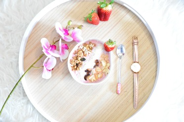 Smoothie bowl fraise